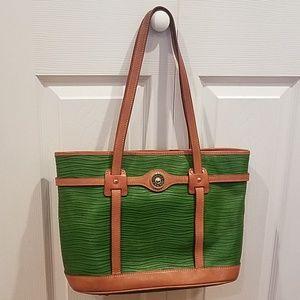 Dooney & Bourke green handbag